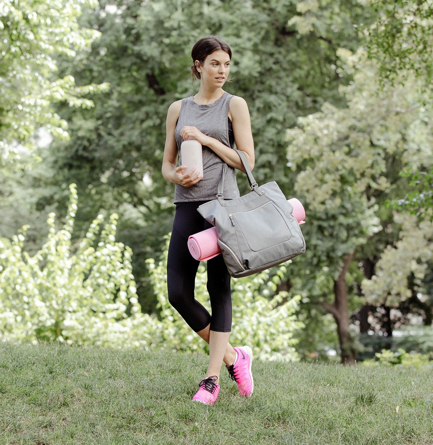 Front Runner Tote with Yoga Mat Holder