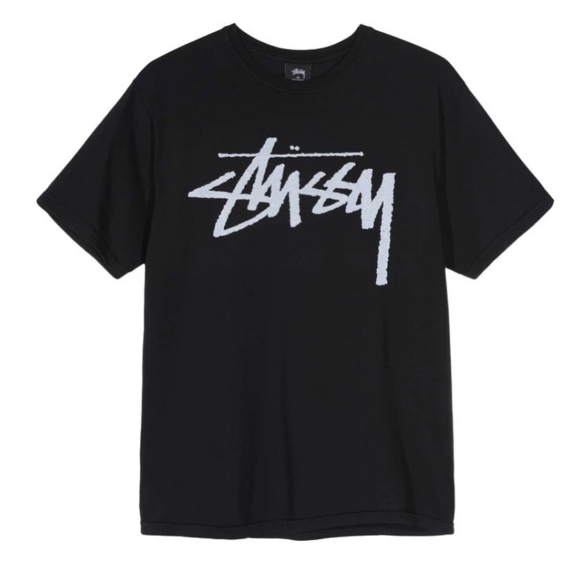 Stussy Stock Logo Pigment Dyed Tee