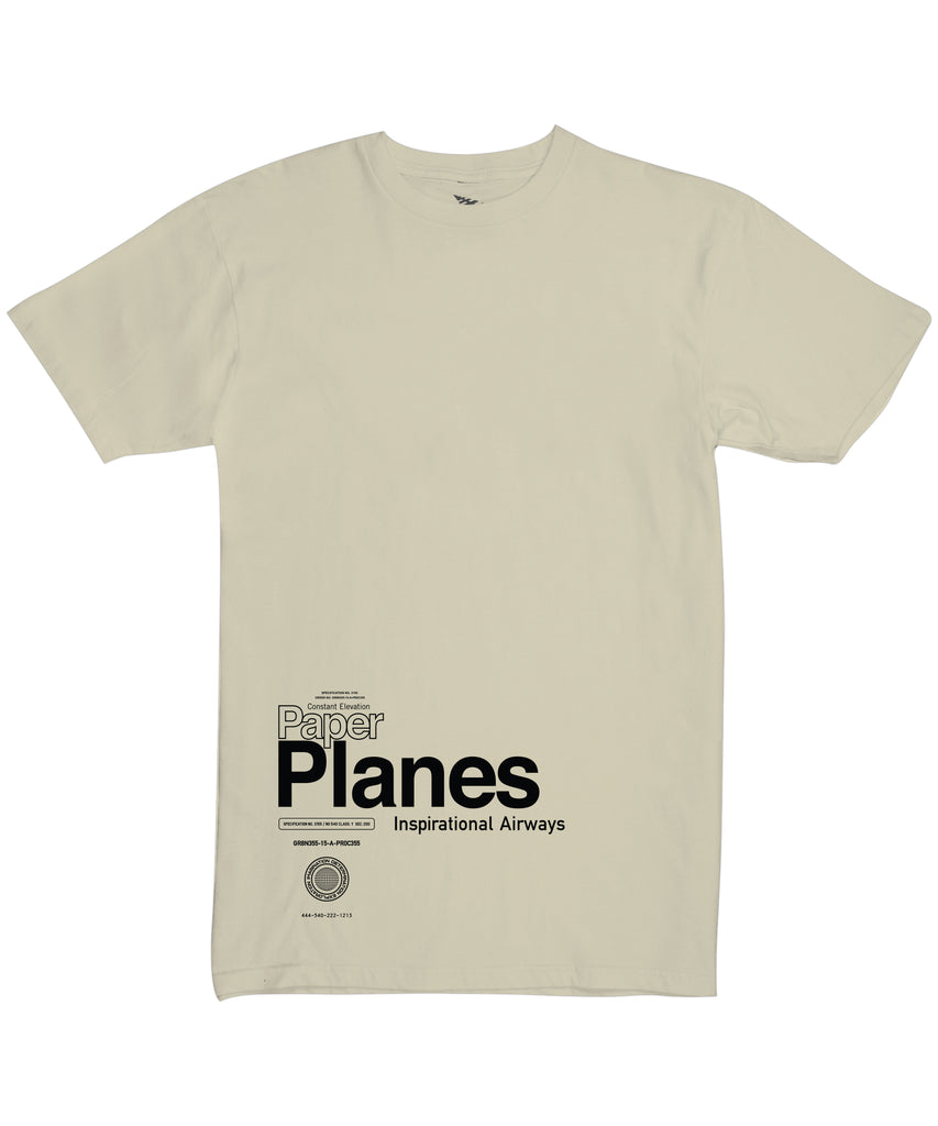 Paper Planes Return Flight Oversized Tee
