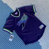 Mitchell and Ness Tampa Bay Devil Rays V Neck Jersey