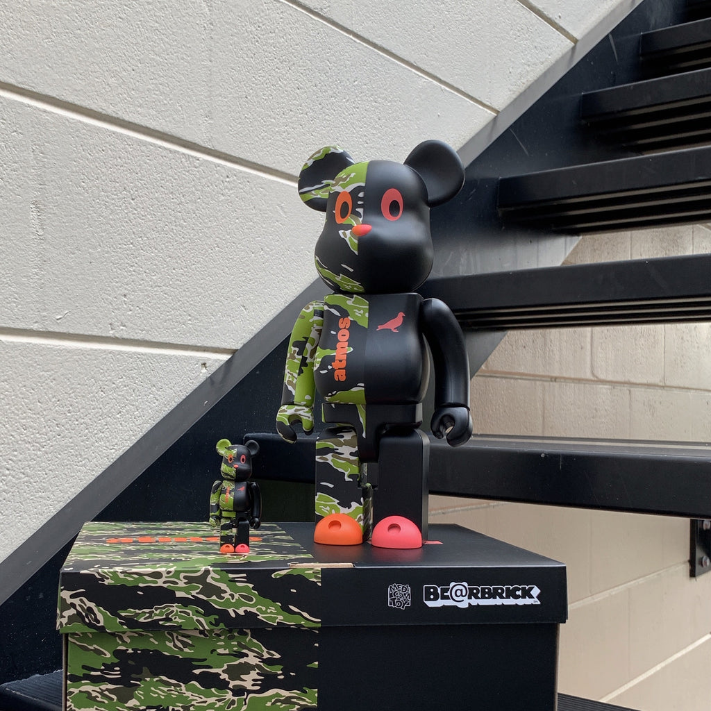 Atmos X Staple #2 Be@rBrick Box Set 100% and 400%
