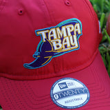 New Era X FRSH 2001-2007 Tampa Bay Devil Rays NYLON Dad Hat