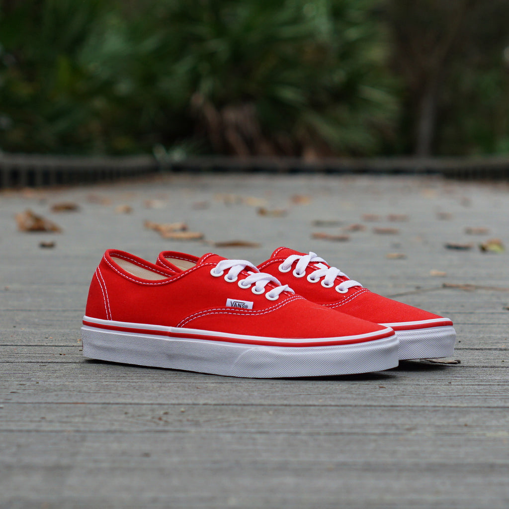 Vans Authentic Classic Red