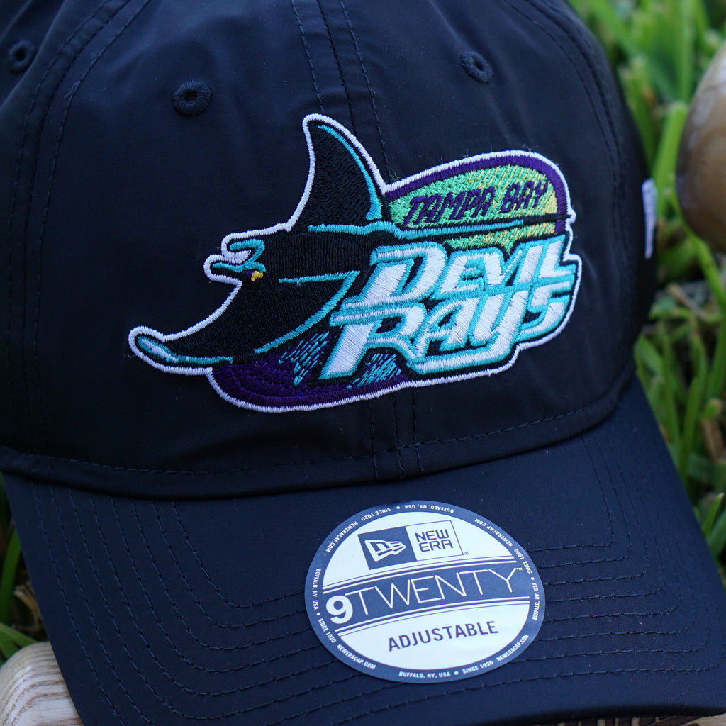 New Era X FRSH 1998-2000 Tampa Bay Devil Rays NYLON Dad Hat