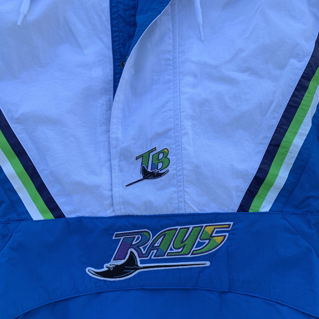 Mitchell and Ness Tampa Bay Devil Rays Half Zip Anorak