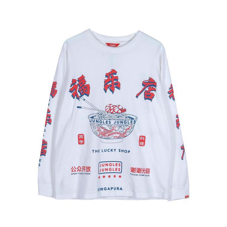 Jungles Lucky Noodle LS Tee