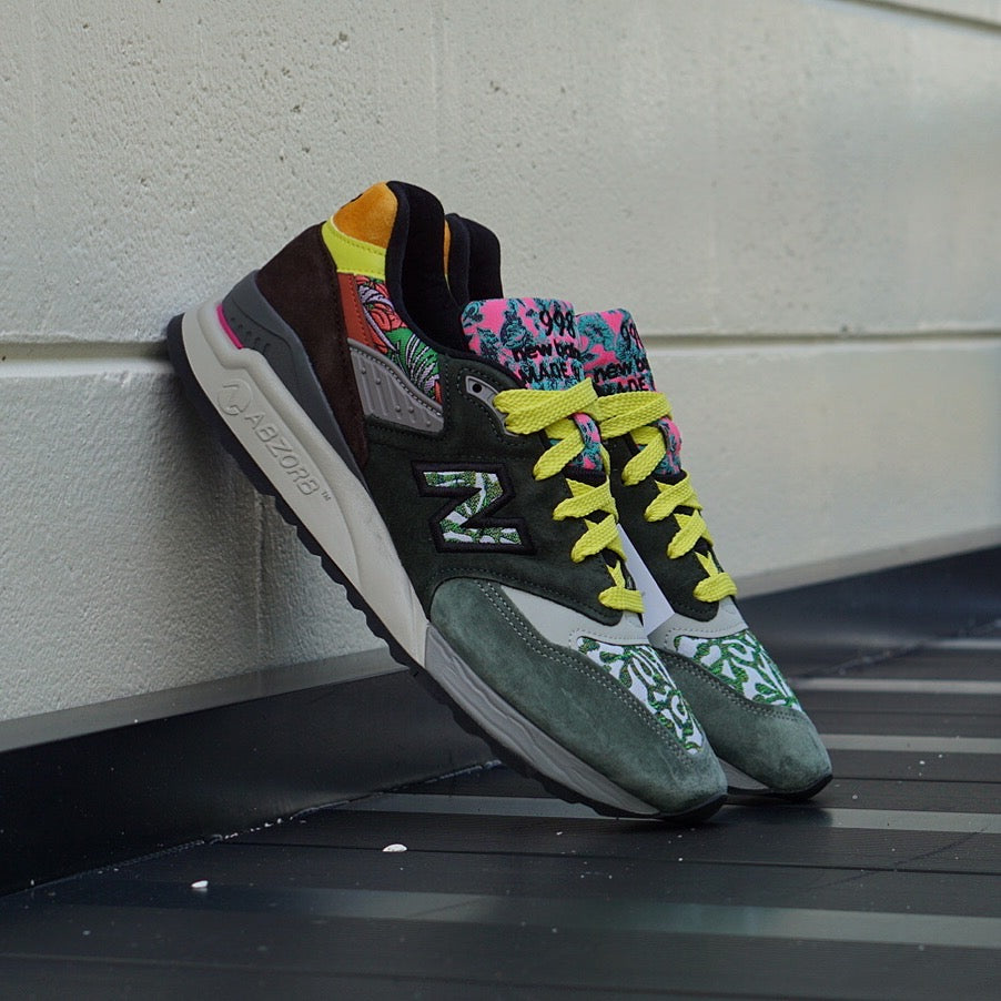 low priced d76be bcb9f New Balance 998 Made in USA Floral
