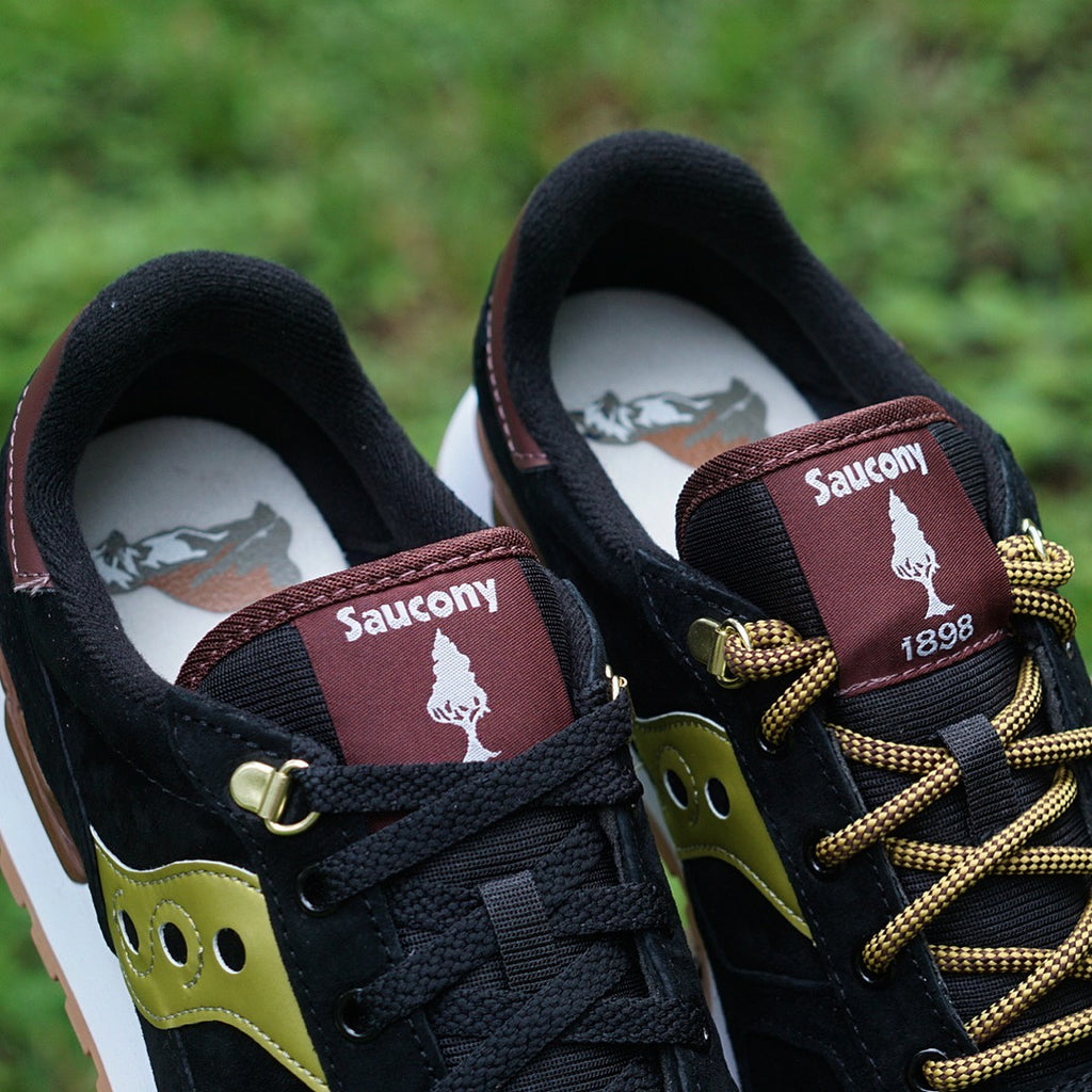 "Saucony Shadow Original ""Park Ranger"" Pack Black/Gold"