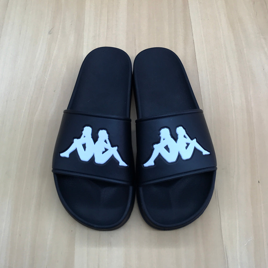 "Kappa Authentic Adam 2 ""Slides"" Black"