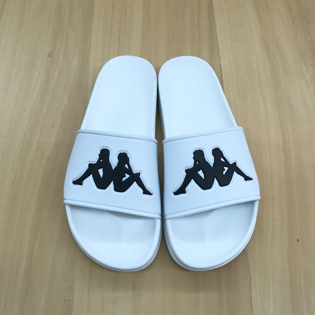 "Kappa Authentic Adam 2 ""Slides"" White"
