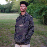 Fresh Rags Packable Anorak Windbreaker