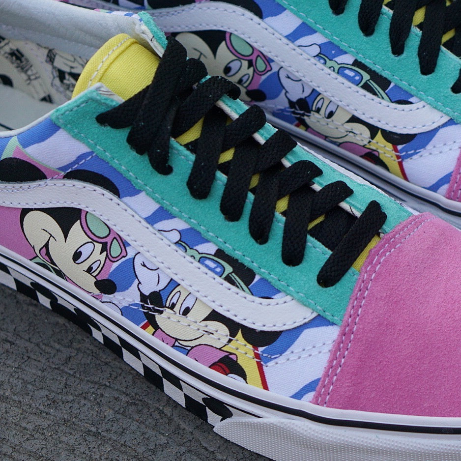 "Vans X Disney Old Skool ""80's Mickey"""