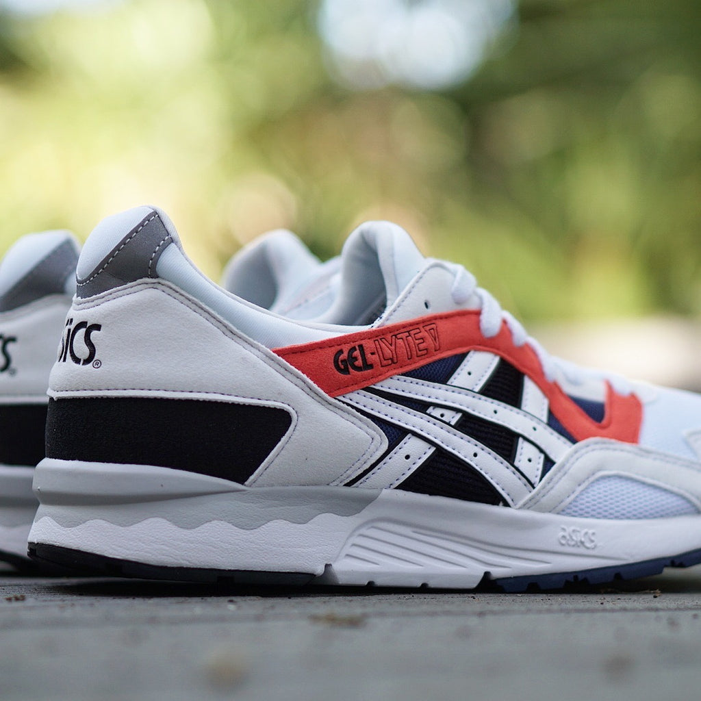 "Asics Gel-Lyte V ""White/Orange"""