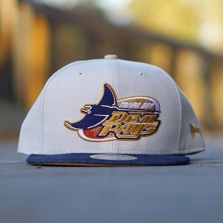 "Fresh Rags X New Era Cap ""Devil Rays"" Snapback"