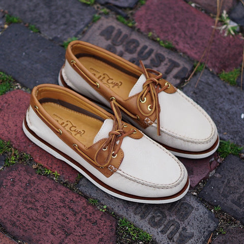 "Sperry A/O 2-Eye ""Oatmeal"""