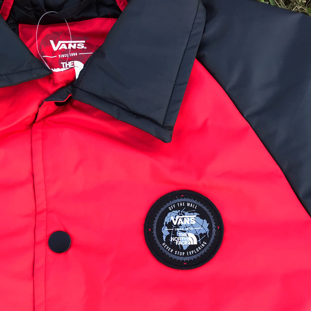 "The North Face X Vans Captain Jacket Torrey MTE ""Red"""