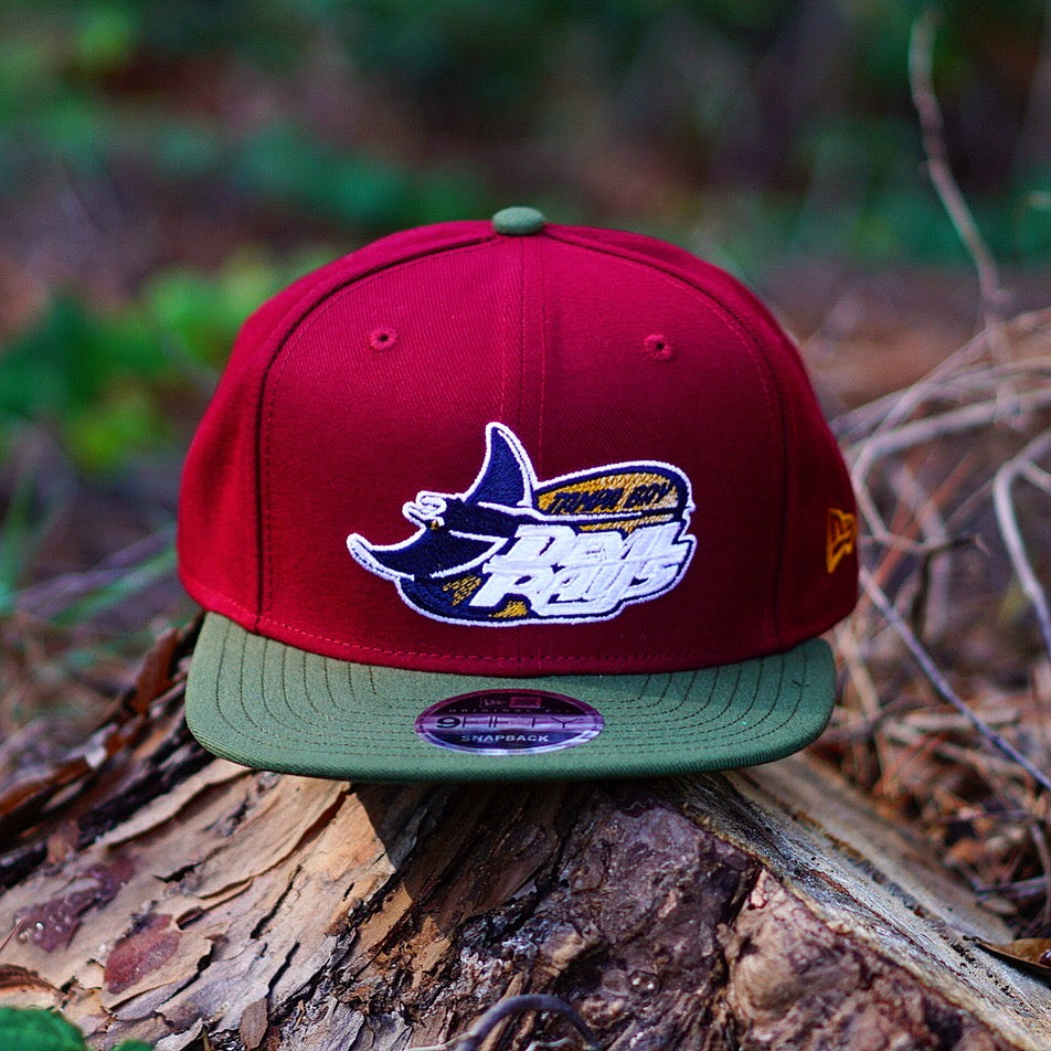 "New Era X Fresh Rags ""Tampa Bay Rays"" Winter Snapback"