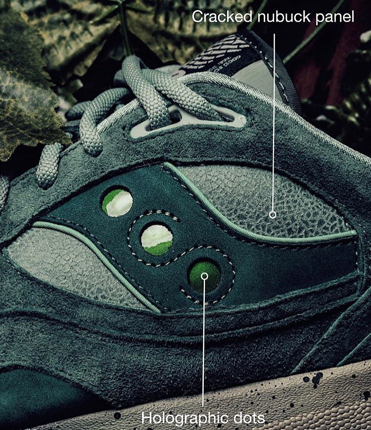 "Saucony X Feature LV Shadow 6000 ""Living Fossil"""