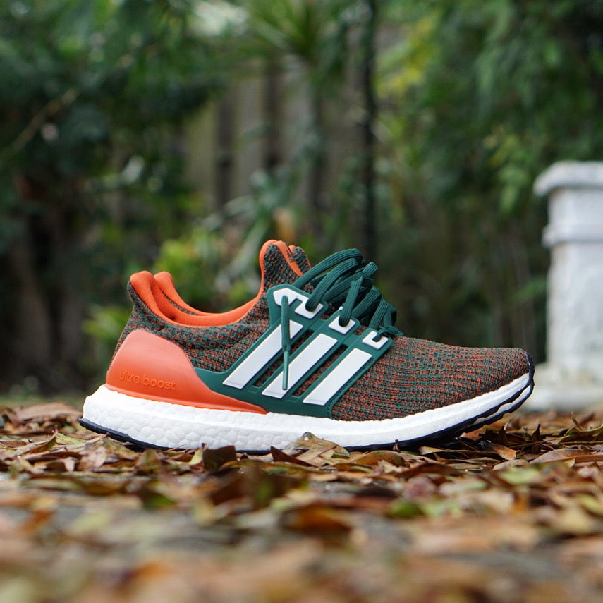 sports shoes ada0d df897 Adidas UltraBoost 4.0 LTD University Of Miami – Fresh Rags FL