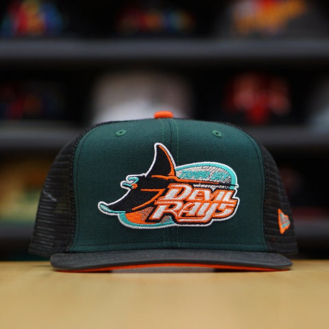 "FRSH X New Era Cap ""Pastels"" Tamp Bay Rays Throwback Dad Hat ""Teal"""