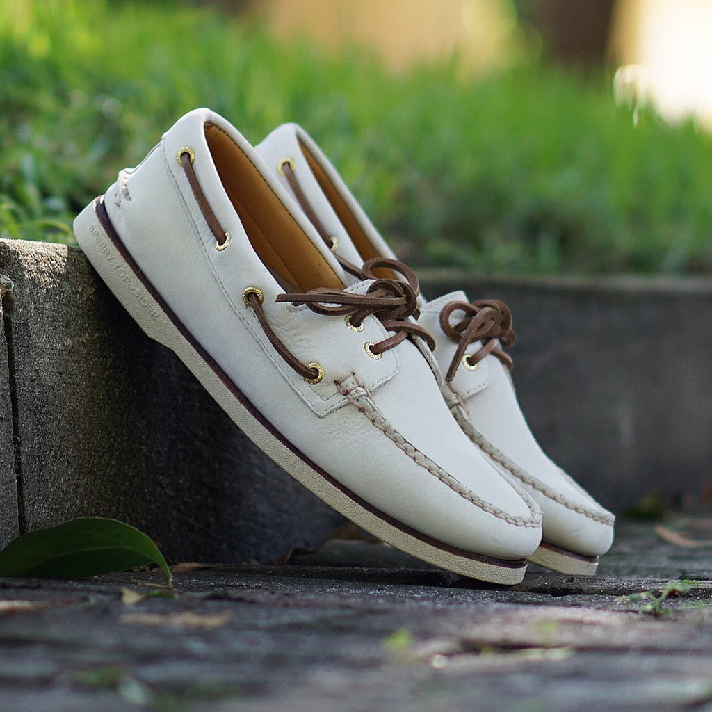"Sperry Gold Cup ""Ivory"""