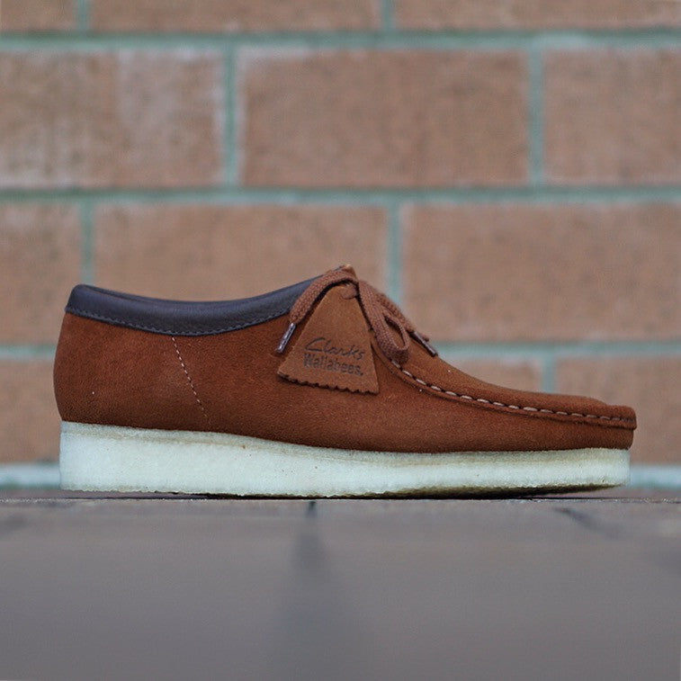 "Clarks Wallabee ""Dark Tan"" Suede"
