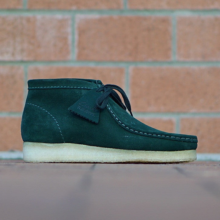 "Clarks Wallabee Boot ""Dark Green"" Suede"