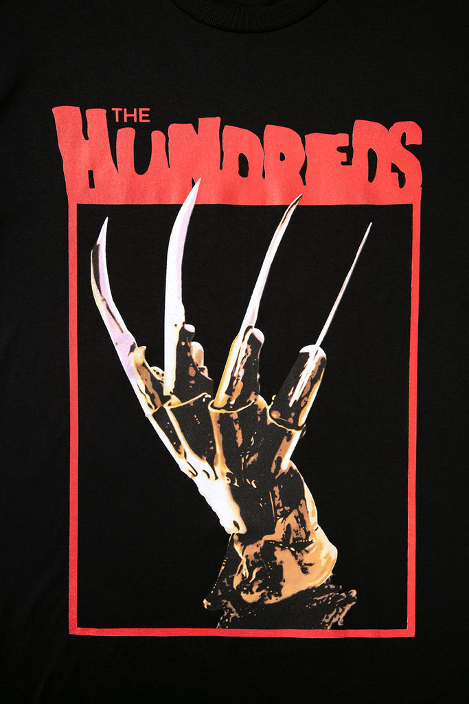 The Hundreds X Nightmare On Elm Street Kruger Hand Tee