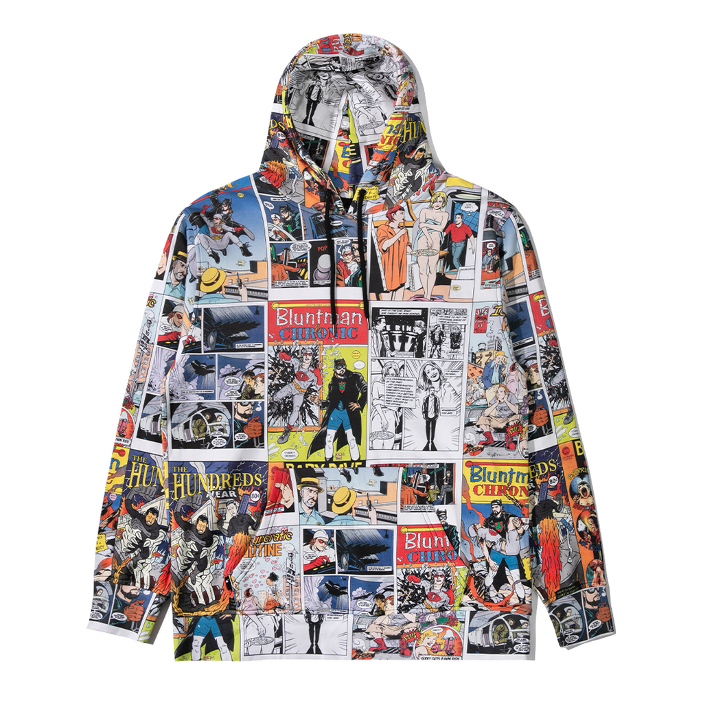 Kevin Smith X The Hundreds Comic Pullover Hoodie