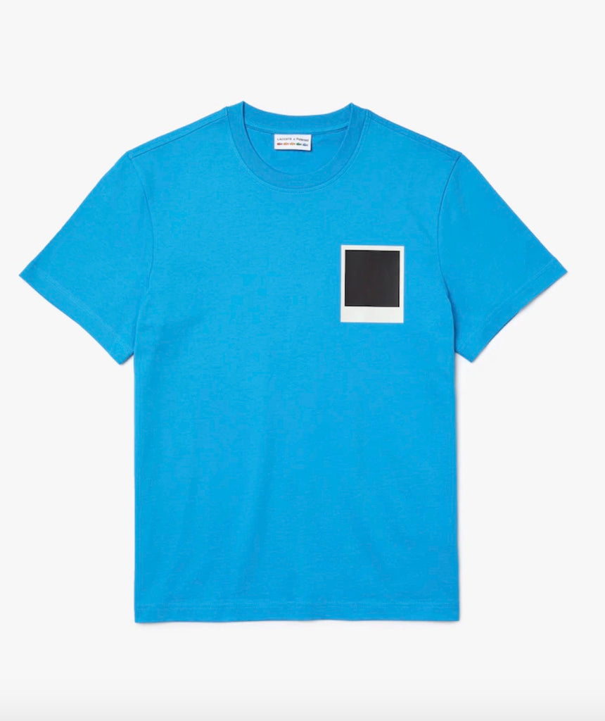 Polaroid X Lacoste L!ve Thermo Badge Tee