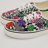 Vans Authentic Printed Floral Checkerboard