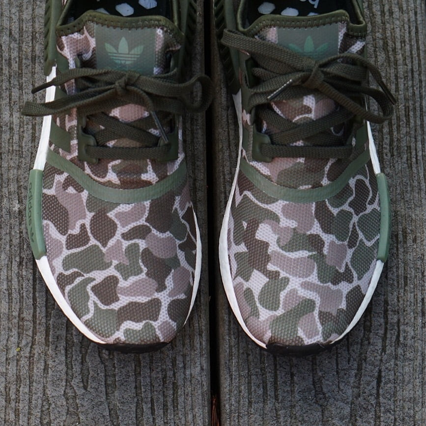 "Adidas NMD R1 ""Duck Camo"" Olive"