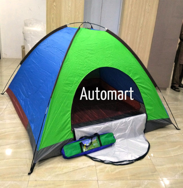 Water Proof Polyester Camping Tent 6 Persons