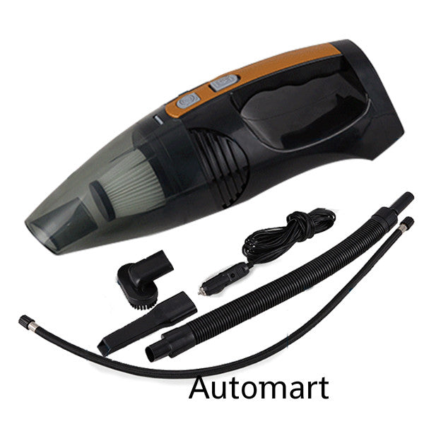4 in 1 Multifunction Car Vacuum Cleaner+Air Pump+Tyre Pressure