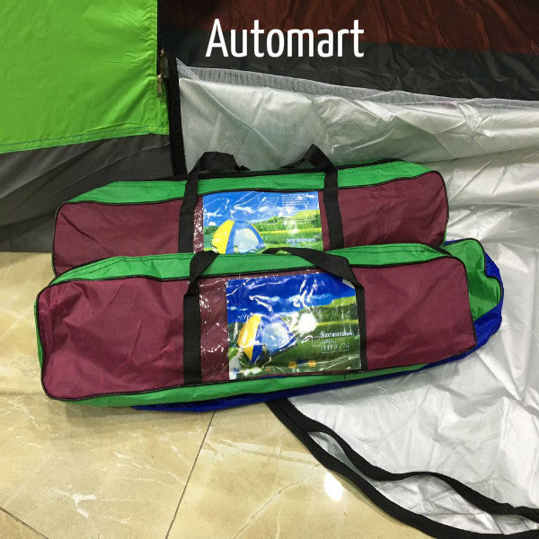 Water Proof Polyester Camping Tent 4 Persons