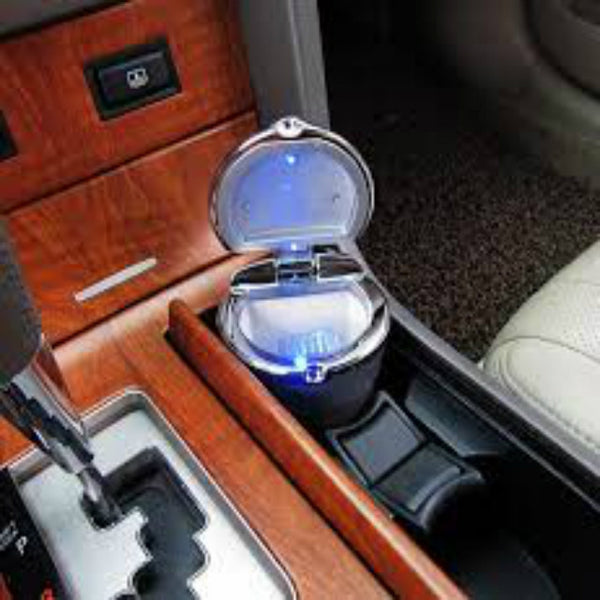 Led chrome Lid Ashtrays