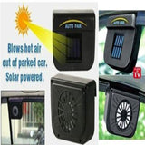 Solar Powered Ventilation Fan For All Cars