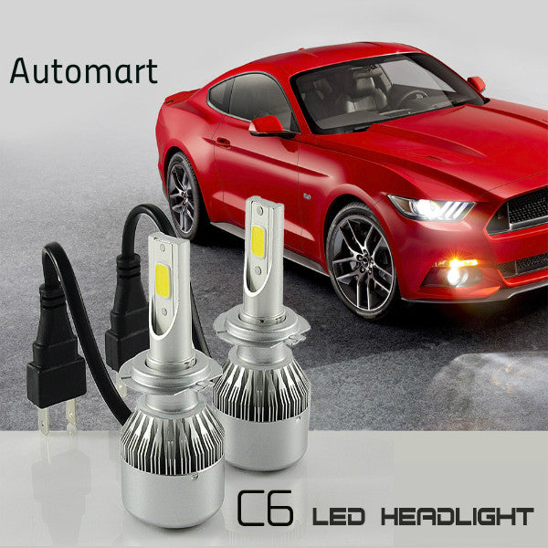 C6 LED HID HeadLights