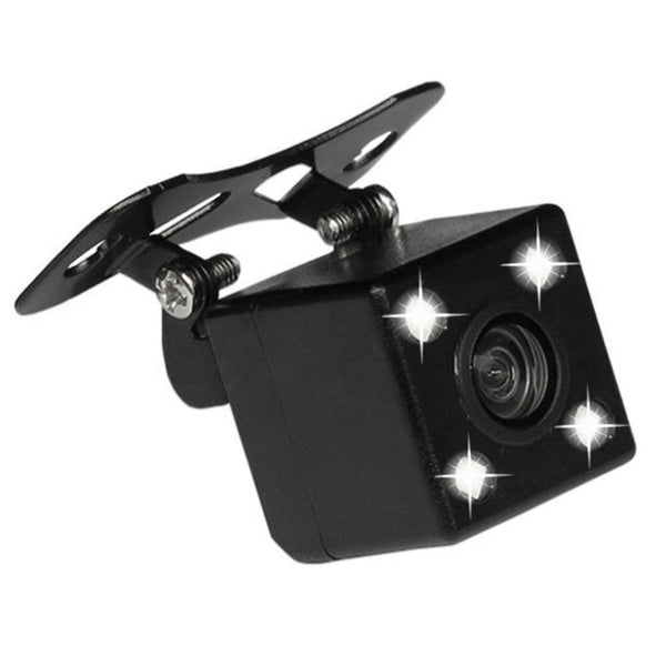 Waterproof 4 LED Night Vision Car CCD Rear View Camera