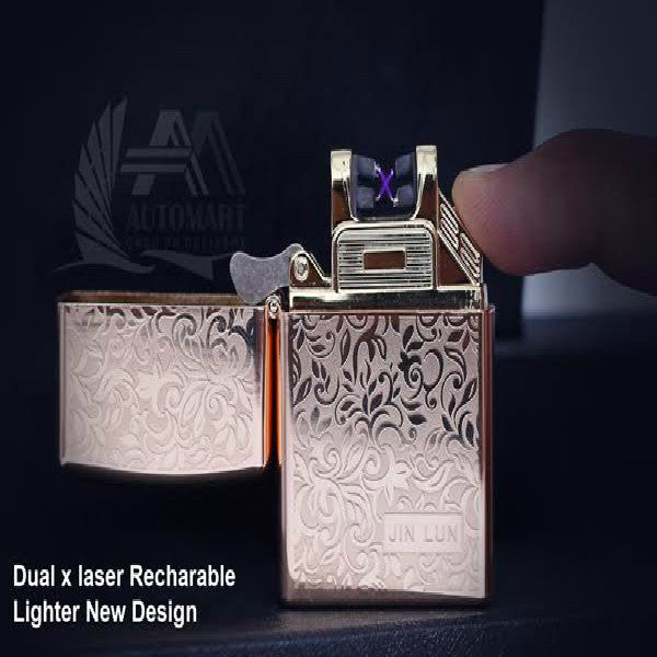 Dual X Laser Recharge Able Lighters