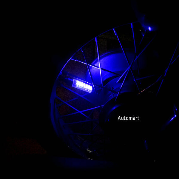 6 LED TYRE FIREFLY (RED/BLUE)