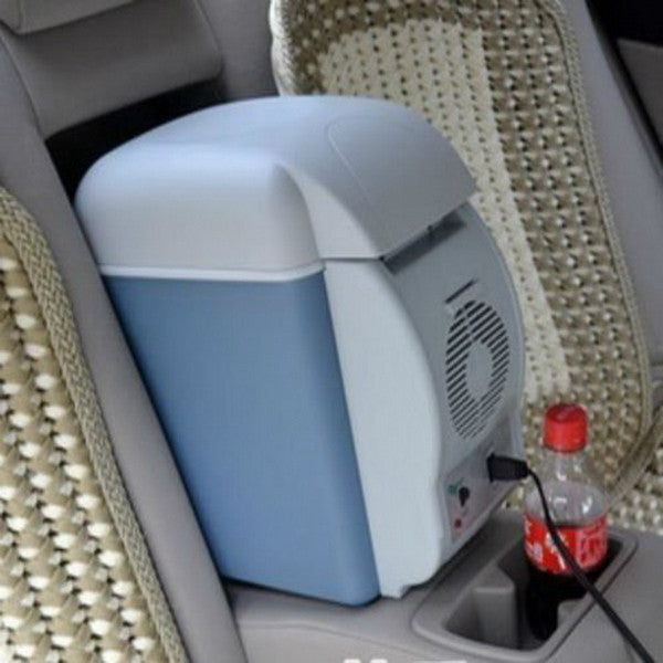 Car Mini Fridge 7.5L ABS Mini Car Refrigerator Cooling And  Warming Multi-Functions