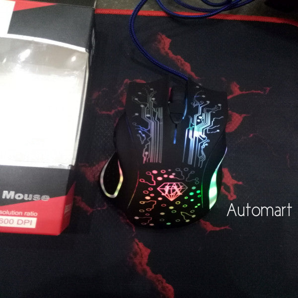 JX LED Optical gaming Mouse
