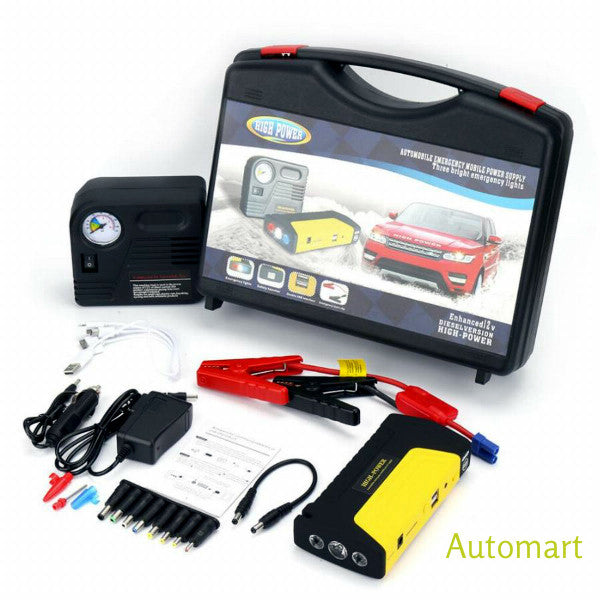 Multifunction 16800mAh 12V Car Jump Starter Kit