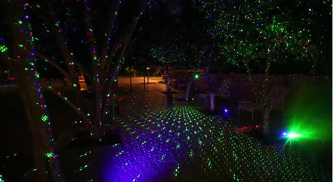 Laser Stars Decoration Light With Remote Control