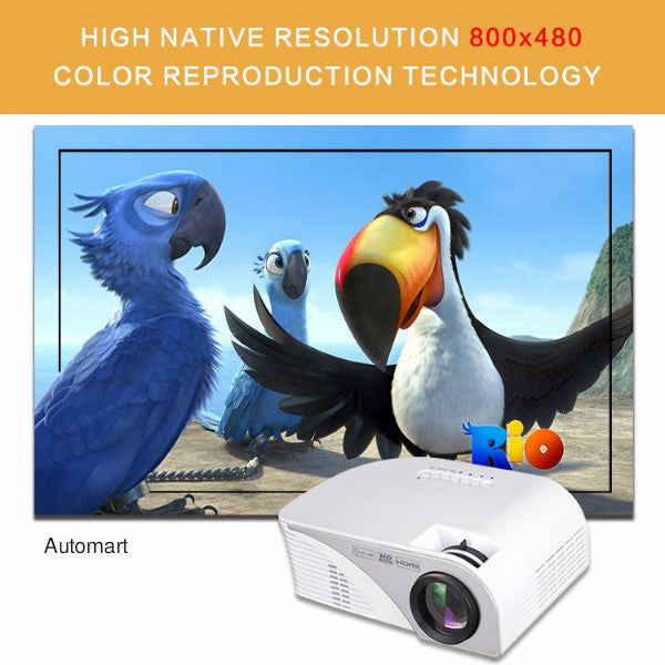 RD-805B Mini LED Projector