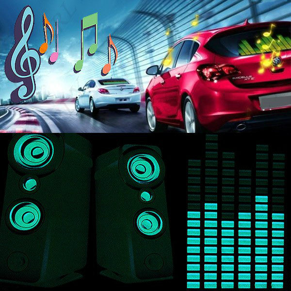 Car music Sound Equalizer Light
