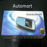 "4.3"" HD 1080P Dual Lens Car Rearview Mirror"