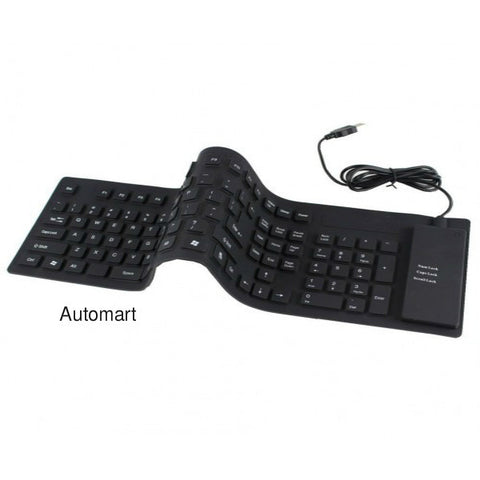 Foldable Waterproof Flexible Rubber Keyboards
