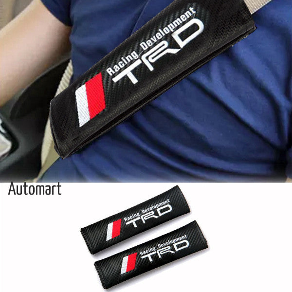 Seat Belt Covers Pads ( Type-R , TRD , MOMO )